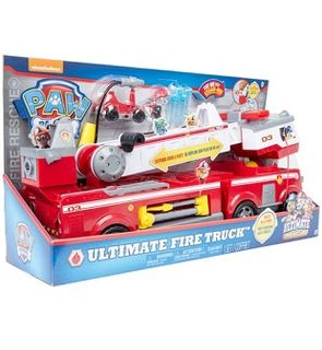 PAT PATROUILLE Camion de Pompiers Ultimate Rescue